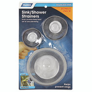 Camco Sink Strainers Asst 3 pk. SS