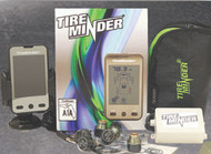 Tire Minder Tire Pressure Monitoring System with 6 Transmitters and Booster