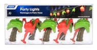 Camco Party Lights - Flamingos and Palm Trees