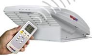 MaxxAir MaxxFan Roof Ventilator with Remote - White