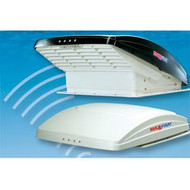 MaxxAir MaxxFan 12Volt Roof Ventilator with Thermostat - White