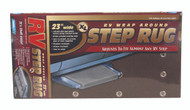 "Camco RV Entry Step Rug, XL Brown 23""W x 22""L"