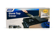 Camco Stove Top Cover - Black - Universal Fit