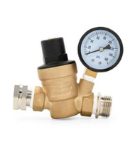 Water Pressure Regulator with Gauge Camco 40058