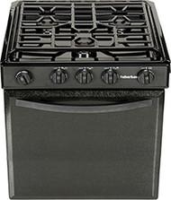 3106A Suburban Oven Range Black