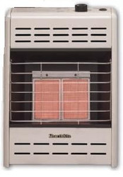 Empire HR-10ML 10,000 BTU LP Gas Hearthrite Radiant Manual Heater