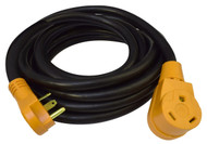 Cynder RV Yellow 30 Amp Power Extension Cord 50'