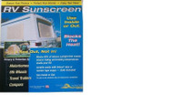 Camco RV Sunscreen, 33 x 62