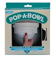 Pop-A-Bowl Dispenser, Almond