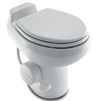 Dometic Sealand Traveler 500H China Toilet High White w/ Hand Spray