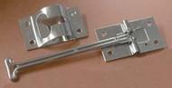 "Self-Closing Entry Door Holder, 4"", Stainless Steel"