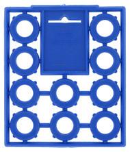 Valterra Hose Washers, Blue, 10 per Card