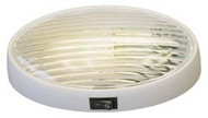 Oval Porch Light w/ Switch, White