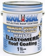Kool Seal Elastomeric Premium Roof Coating, 1 Gal, White