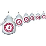 Polymer Alabama Crimson Tide 6 String Globe Party Lights