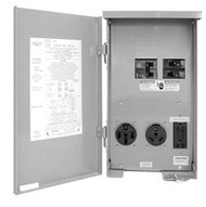 100 Amp Power Outlet w/ 50A Circuit Breaker