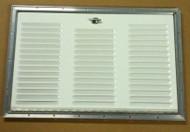 Dometic Refrigerator Access Door/Panel/Vent Exterior, Polar White