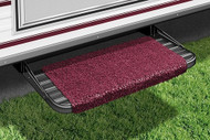 Wraparound RV  Step Rug, Burgundy