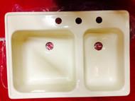 Kitchen RV Sink, Parchment