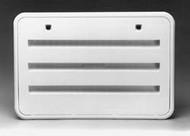 Refrigerator Service Vent Door, Plastic, Polar White