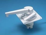 J&C Dual Action Water Pump, Polar White