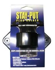 Stay-Put Plug Holder