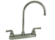 "Empire Brass 8"" Kitchen Faucet Gooseneck Spout, Chrome"