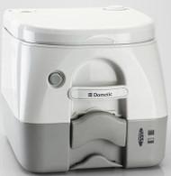 Dometic Portable Toilet Potty, 970 Series, 2.6 Gallon, Tan