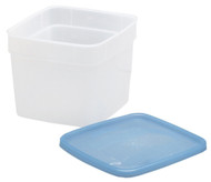 Stor-Keeper Freezer Leftover Food Storage Containers, 1/2 Gal, 2pk