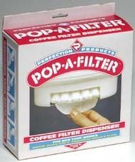 Pop-A-Filter Coffee Filter Dispenser, Almond