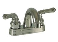 """Empire Brass 4"""" Lavatory Teapot Handles Arc Spout, Chrome"""