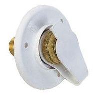 City Water Flange, Colonial White