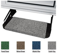 "Outrigger RV Step Rug, 18"", Castle Gray"