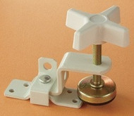 Fold-Out Clamp, White