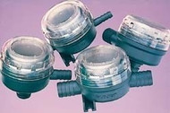 """FloJet Stainless Steel Strainer In-Line, 1/2"""" Barb"""