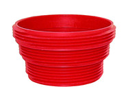 Valterra EZ Coupler Sewer Thread attachment, Red, Bulk