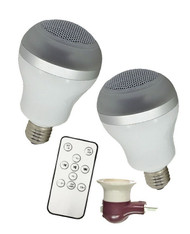Bluetooth LED Speaker Bulbs