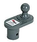 "Gooseneck 4"" Offset Ball for Flip-Over Hitch"