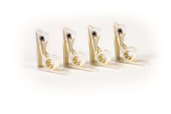 Camco Deluxe Tablecloth Clamps, 4pk