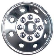 Namsco Stainless Steel Wheel Covers, 16""