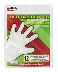 Valterra RV Dump Gloves, 12 per Bag