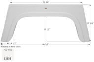 Fender Skirt, Single, Glendale, FS2155, Polar White