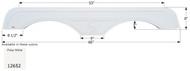 Fender Skirt, Tandem, Sunnybrook, FS2652, Polar White