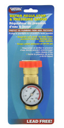 Valterra Water Regulator Gauge Combo, Lead-Free, Carded