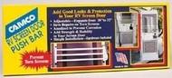 Camco Screen Door Push Bars, Aluminum