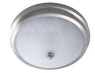 Low Profile Dome Light, Satin Nickel