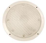 "Dome Light, Chrome Look, 8-1/4"" Round"
