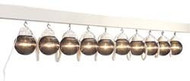 Awning Patio Party Lights, Globes, Bronze, 10pk