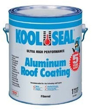 Kool Seal Aluminum Roof Coating, 1 Gallon