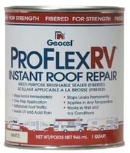 Proflex RV Instant Roof Repair, Clear, 1 Gallon